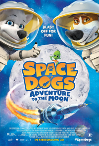 Space Dogs Adventure to the Moon (2016)